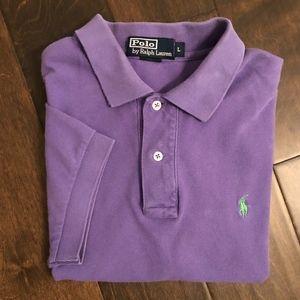 Polo Ralph Lauren SS Purple Polo